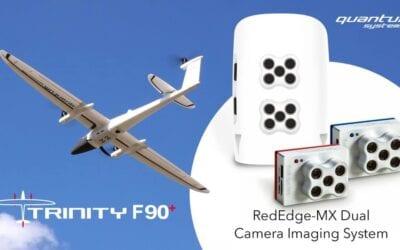 A Quantum-Systems ajánlatai között szerepel a MicaSense Duális Kamera Rendszer hasznos drón modul!