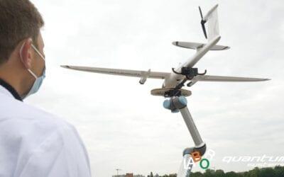 A drón kevesebb, mint hét perc alatt leszállítja a Covid-19 teszteket a laboratóriumba